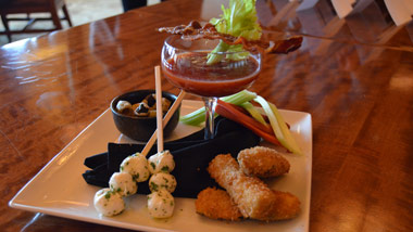 Deconstructed Bloody Mary