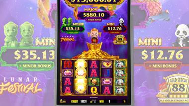 New slot machine lunar festival